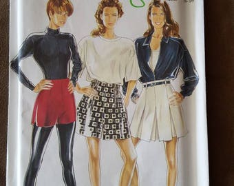 VINTAGE New Look 6626 Misses Shorts 6-16