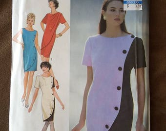 VINTAGE Style 2087 Misses Dresses 8-18 (1991)