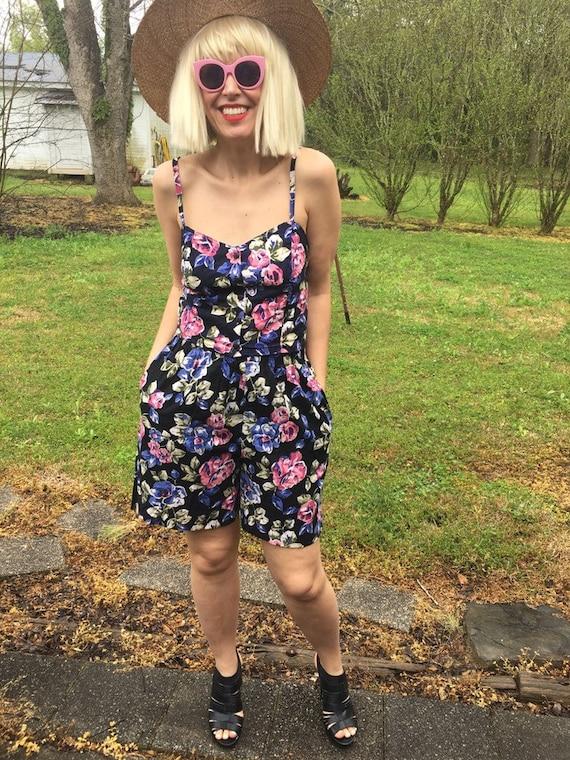 Sz 4/6 Floral Shorts Set in 100% Cotton
