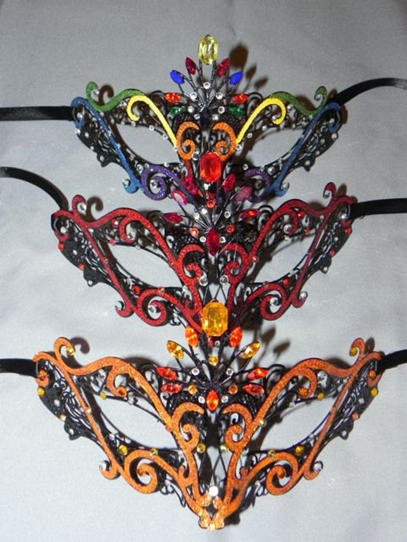 Made to Order Metallic Masquerade Mask