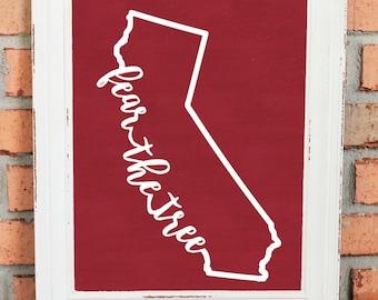 Stanford cardinal | Etsy