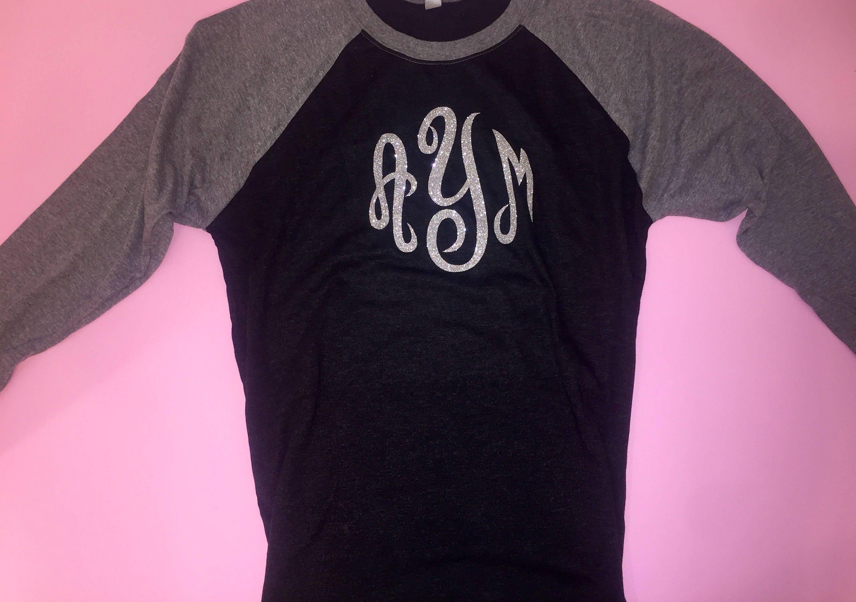 Raglan Monogrammed Shirt