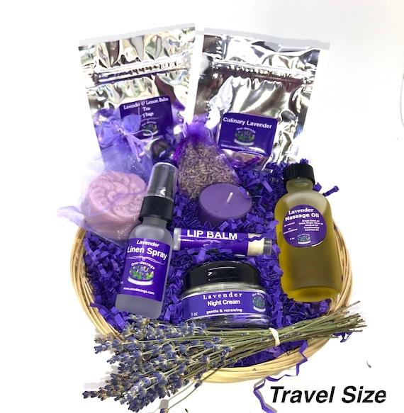Lavender Gift Basket Free Shipping MASSAGE OIL