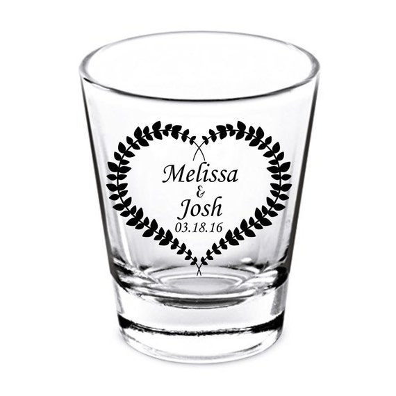 Wedding Shot Glasses Wedding Favors Party Favors Shot Etsy