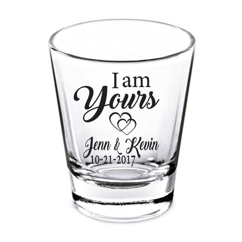 Wedding Shot Glasses.Personalized Shot Glasses Wedding Glasses Wedding Shot Glasses Bridal Shower Gift Custom Shot Glasses Shot Glasses Wedding Favors