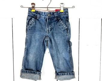 Light Wash Size 2T or 3T or 4T Toughskins Infant /& Toddler Boy/'s Denim Shirt