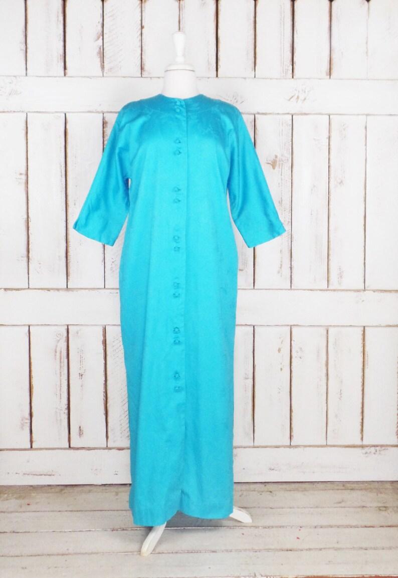 c1fdf54141da47 Vintage MME Schmetterling blau japanischen lange Kimono | Etsy