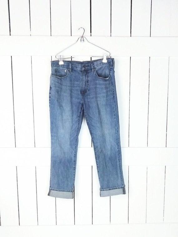 Brooks Brothers blue straight fit jeans/blue strai