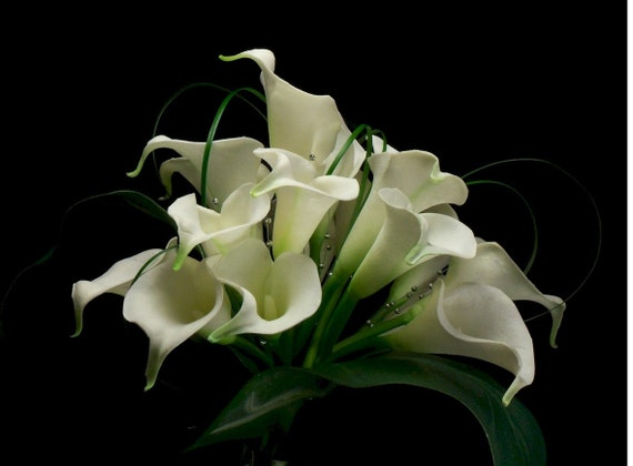 Bridal Calla Lilly Elegant Bridal Bouquet
