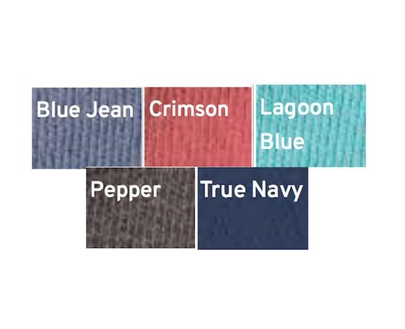 Nouvelle DELTA GAMMA confort couleurs du pull ras du couleurs cou / / blanc à l'encre / / vous choisissez la couleur / taille S-XL 508b80