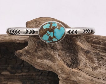 SALE No8 Turquoise Stacker Cuff M/L