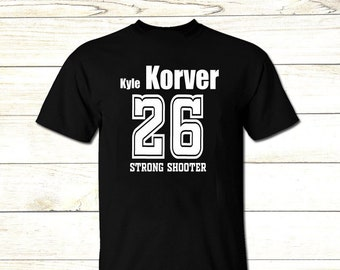 b803b074a CM1015 Men Crew Neck Tee Shirt (Kyle Korver STRONG SHOOTER)