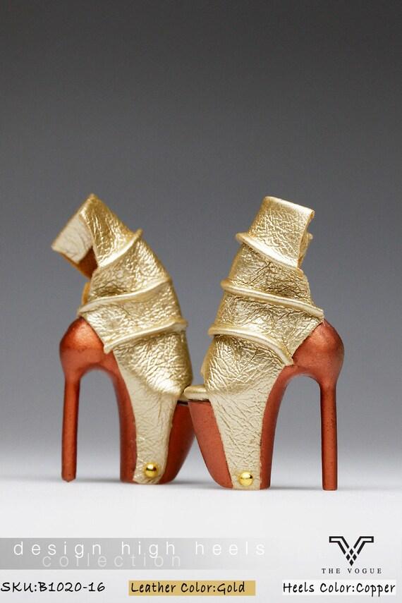 DG Momoko Doll Shoes Sadals for New Fashion Royalty FR2 Poppy Parker 16-FR-2
