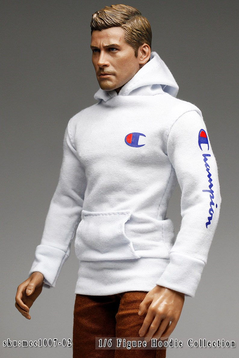 for 16 Figure Enterbay Hot Toys TTL 12 Tall Doll mcc1007 The Vogue Smart Slim Fit Hoodie Logo Printed