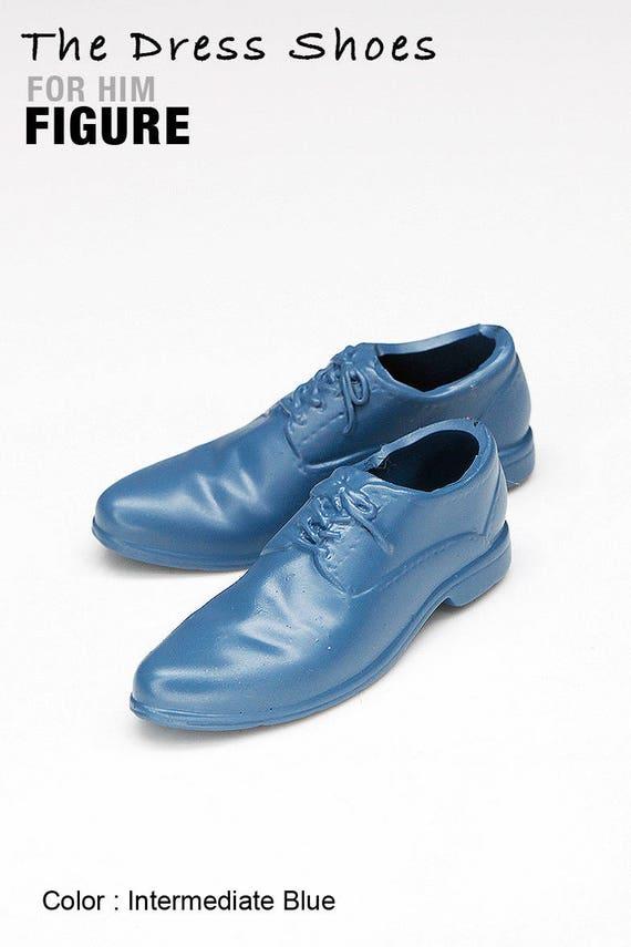 Ms1004-05 Intermediate Blue Dress Shoes