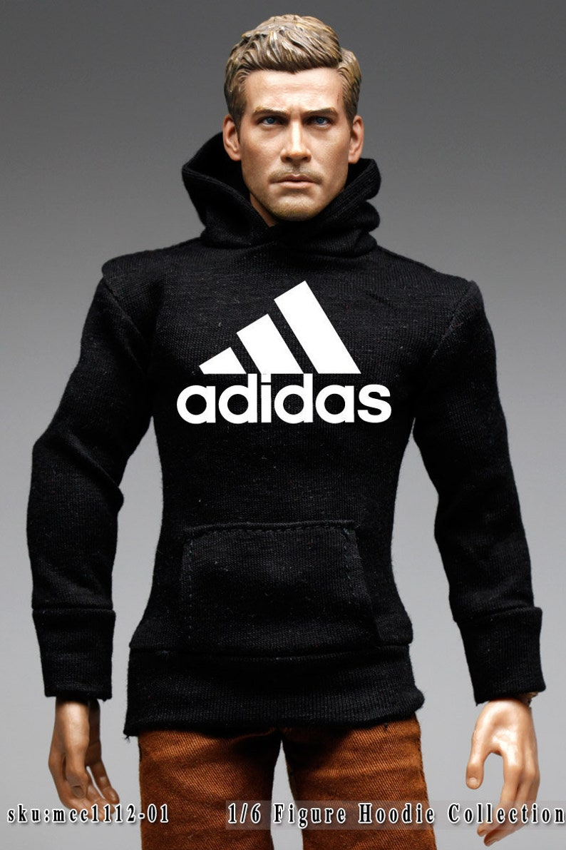 Logo Printed mcc1112 The Vogue Smart Fit Hoodie for 16 Figure Enterbay Hot Toys TTL Homme FR 12 Tall Doll