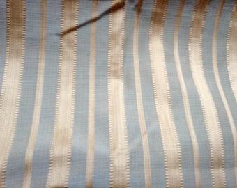 1+ yd Satin stripe fabric