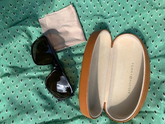 vintage 1990s sunglasses + case