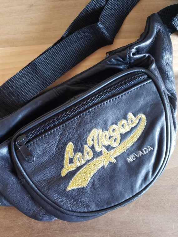 LasVegas Vintage Fanny Pack Bum Bag Waist Purse