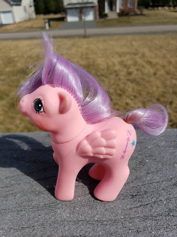 Vintage My Little Pony Baby Pony North Star My First Tooth Etsy