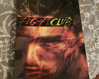 Vintage Fight Club a Novel by Chuck Palahniuk Soft Cover Book 1990s