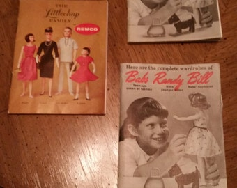 LAST ONE Vintage Doll Booklet The Littlechap Family 1960s