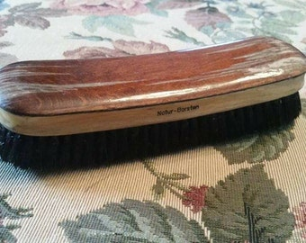 SALE Vintage Natural Bristles Brush Made in Germany As Is Wooden Handle