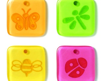 Bloomin' Bugs Tokens Embellishments by Doodlebug Design Inc