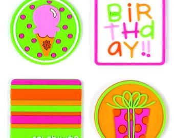 Birthday Girl Jellishments #1259 by Doodlebug