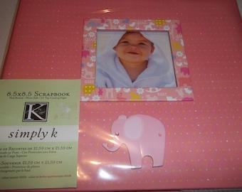 K&Company Simply K Itsy Bitsy Baby Girl Scrapbook