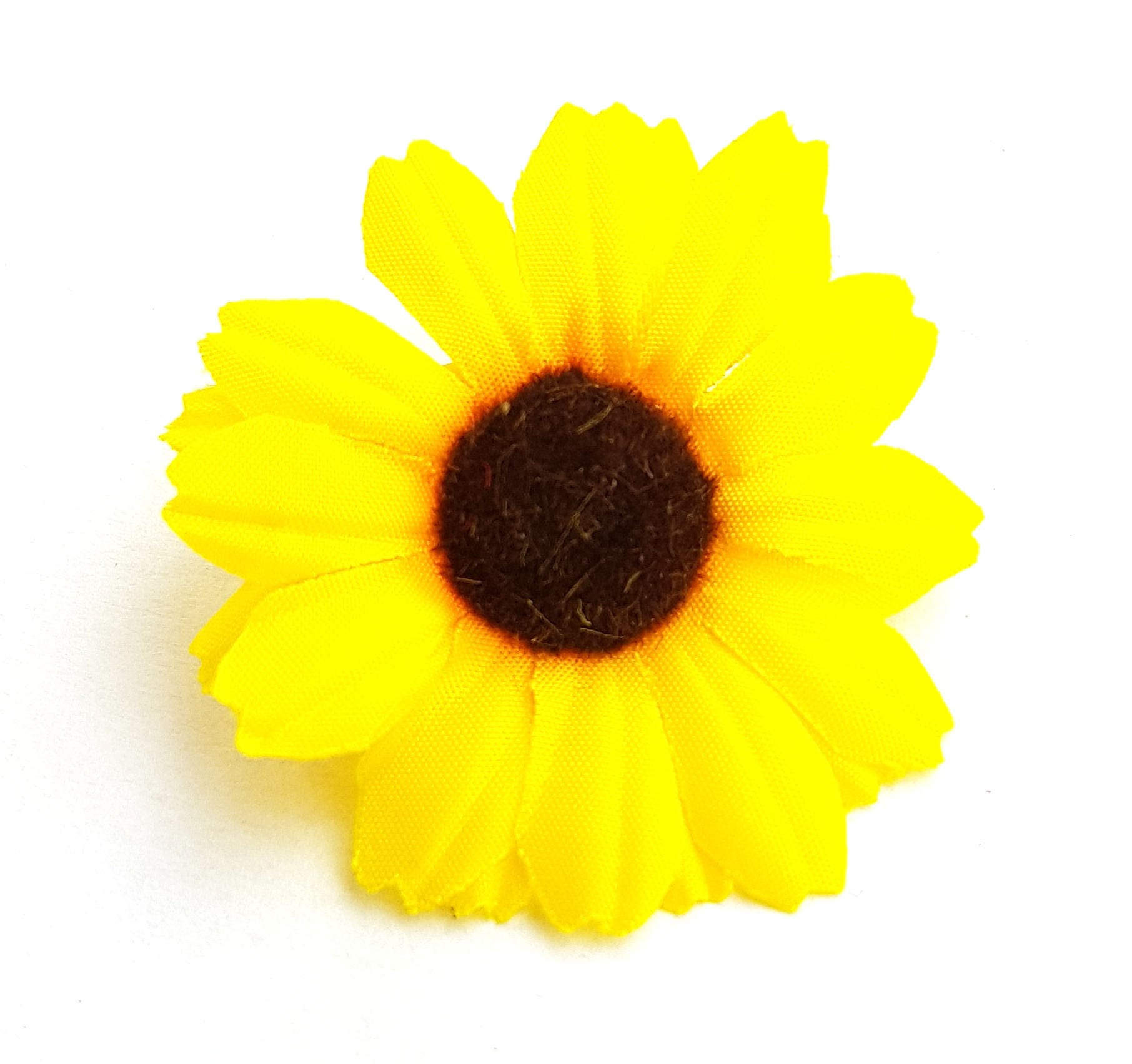 24pcs Yellow Color Daisy Flower Head Size 175 Inches For Etsy
