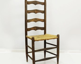 Woven Seat Chair Etsy