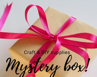Craft and DIY supplies mystery box - gift jewelry making box
