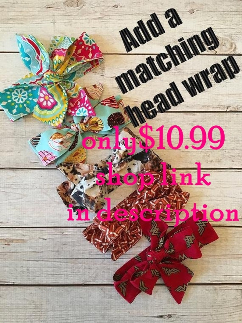 Fabric Hair Bow Fabric Bow 5 wide Made to Match Sweet image 0