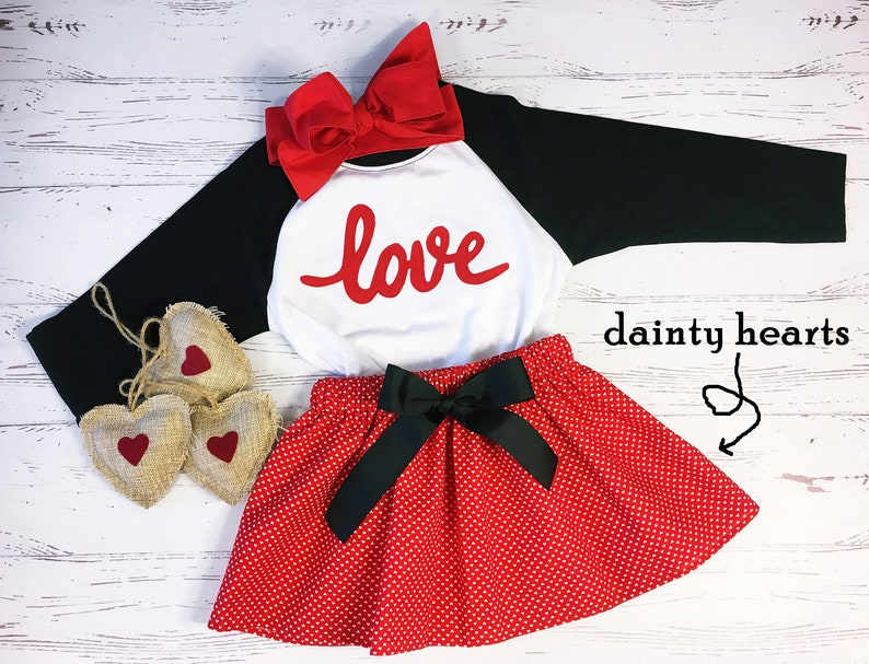 Valentine Outfit for Girls Older Girls Valentine Outfit image 0