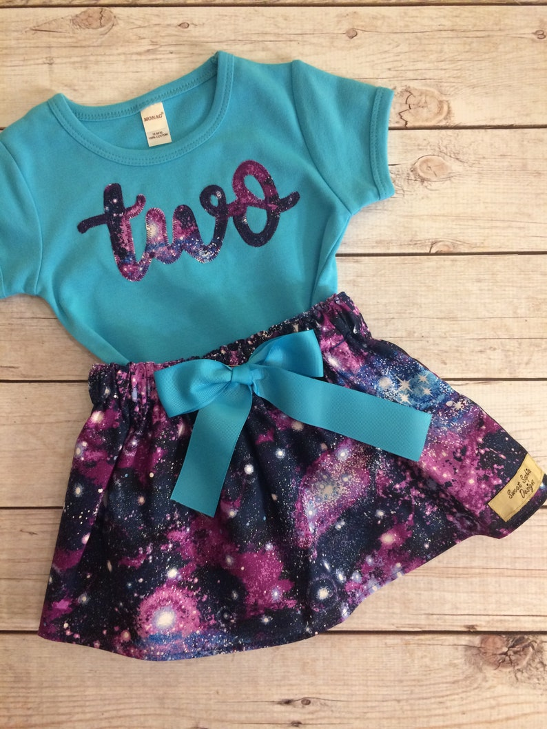 Twinkle Twinkle Little Star Birthday Space Galaxy Birthday image 0