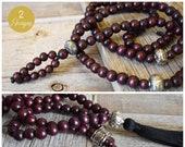108 Bead Meditation Mala Big and Tall Size Meditation Malas Spiritual Jewelry Men 39 s Mala