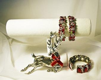 Red Goddess Bracelets