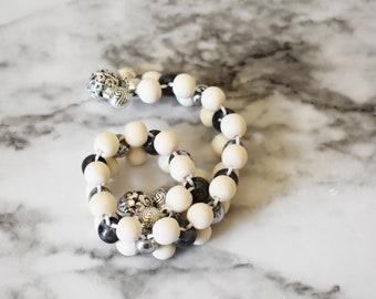Anti Stress Flipping Beads | Labradorite Fidget Beads | Stress Relief Flipping Beads | Prayer Beads | Meditation Beads