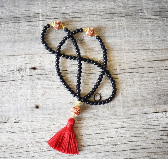 108 Bead Meditation Mala, One Only