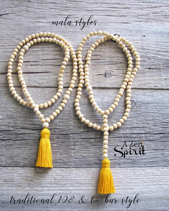 108 bead Meditation Malas Made to Order