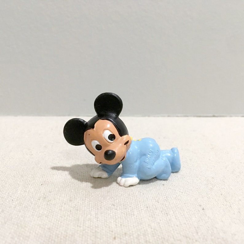Vintage Baby Mickey Mouse PVC