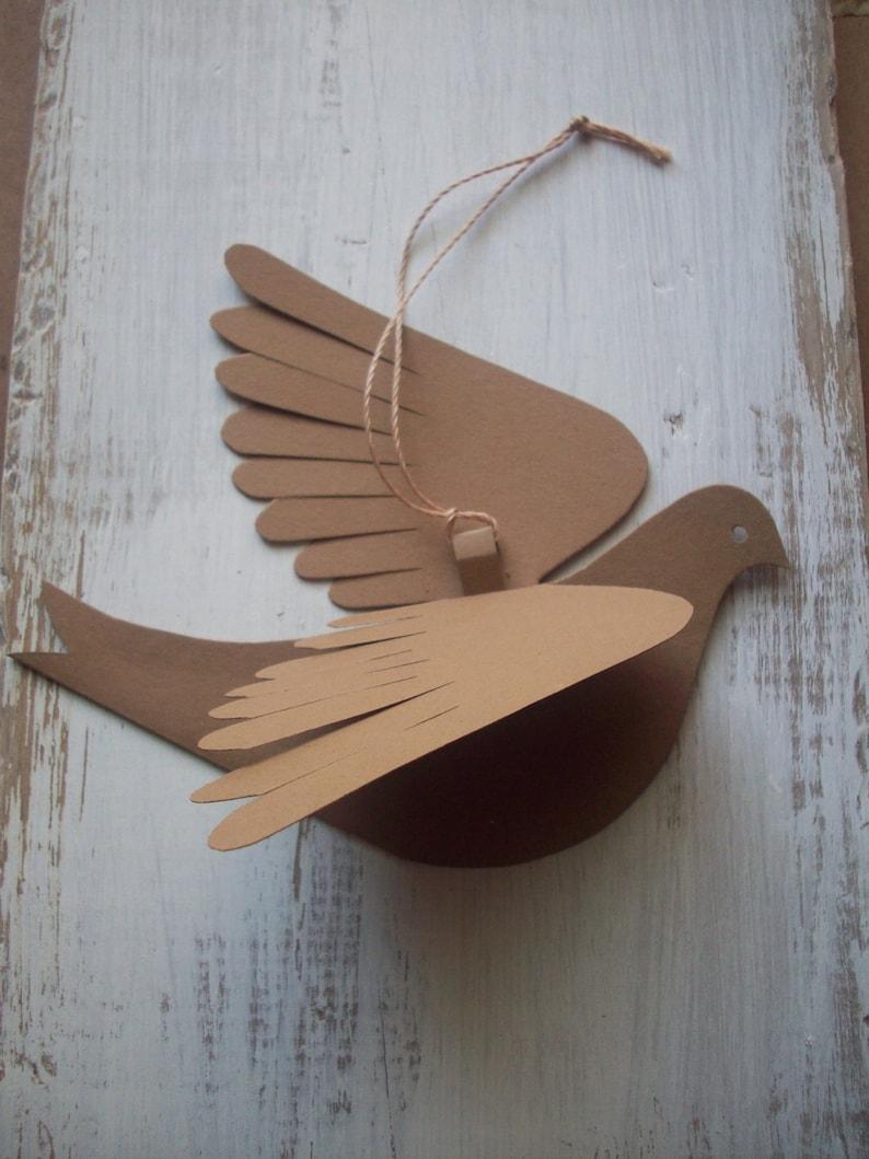 День святого, птички из бумаги своими руками картинки