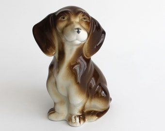Dachshund Porcelain Figurine