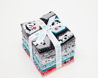 Panda Love Fat Quarter Bundle by Riley Blake Fabric