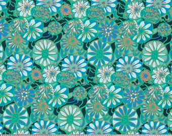 Daisy Shine in Dew Fabric from the True Colors Collection by Amy Butler - Half Yard