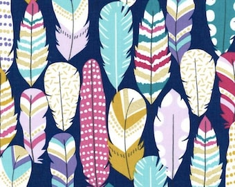 Plucked Fabric in Midnight by Michael Miller Fabric - 1 Yard