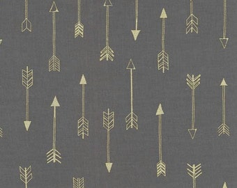 Michael Miller Fabric - 1 Yard Arrows in Coin