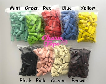 All 9 Colors Chunky Squishy Foam Slime Pieces, Foam for Slime, 15 grams each pack