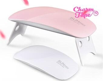 Portable USB Small UV Lamp Resin Craft (9 LED) uv resin curing / Bridge lamp Nail Art Manicure